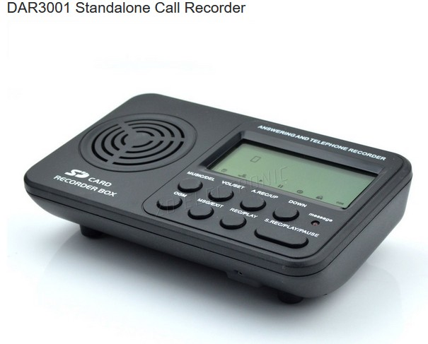 ... Call Recorder-No PC Required-Voicelog DAR3001 - Call Recorder : Call